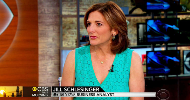CBS_News_business_analyst_Jill_Schlesinger